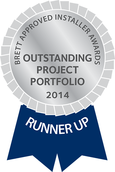 oustanding project portfolio 2014 runner up