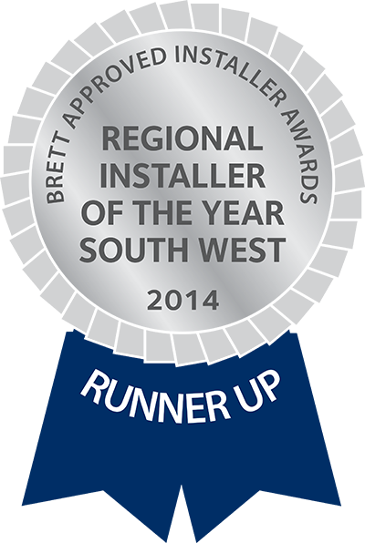 regional installer of the year 2014 runner up south west